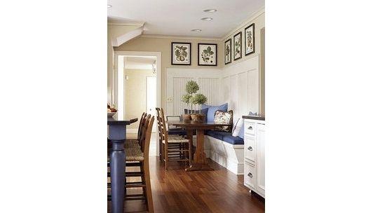 kitchen nook decorating design - Home and Garden Design Ideas