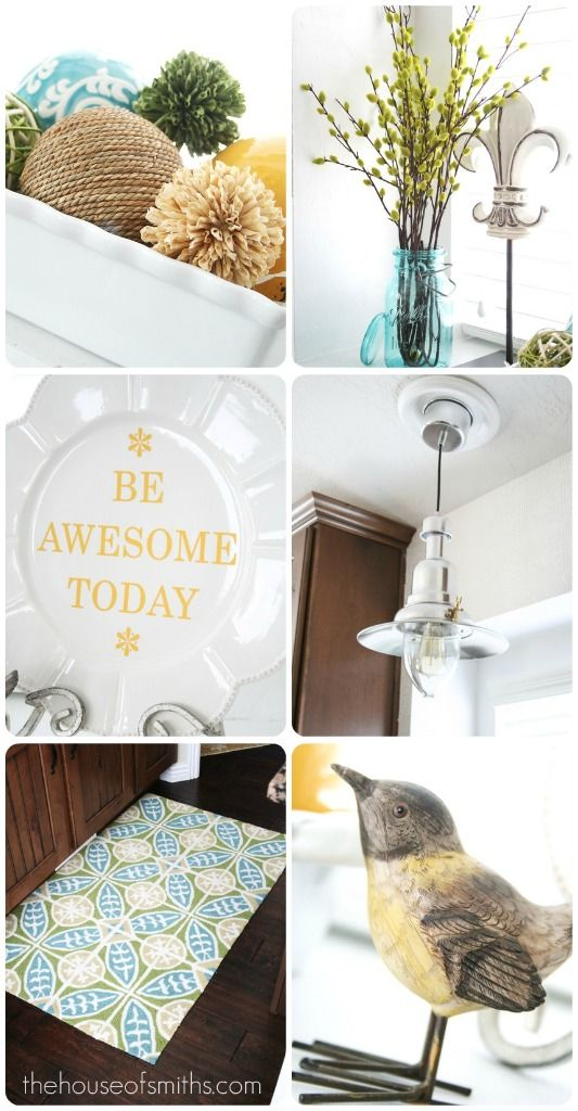 Summer decor, DIYs and other fun ideas. #DIY #houseofsmiths #summerdecor #summerdecorating