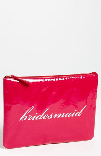 kate spade new york 'wedding belles - gia' cosmetics pouch available at #Nordstrom