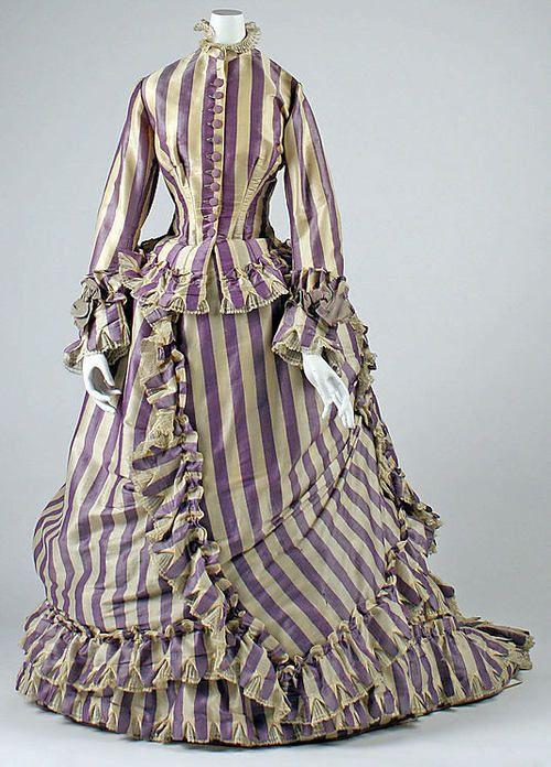 Visting Dress  1867