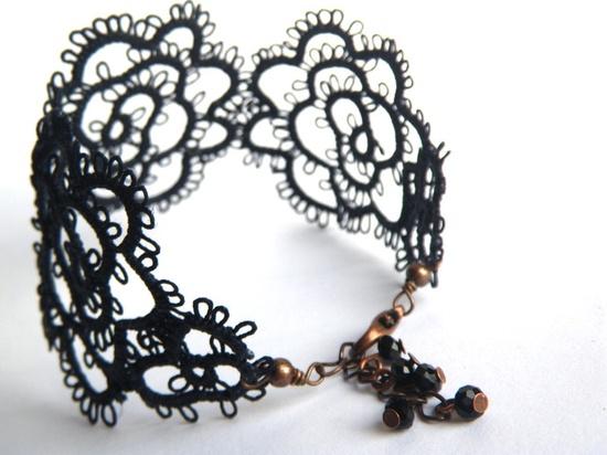 Filigree Lace Tatted Bracelet