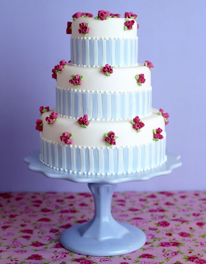 Gorgeous vintage inspired cake by Peggy Porschen #cakes #porschen #peggy