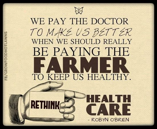 Rethink Health #better health solutions #better health naturally