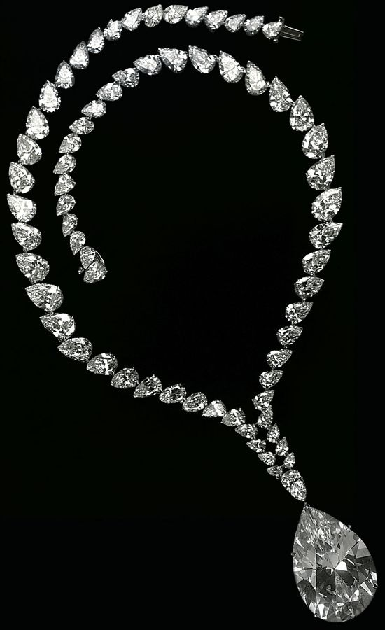 Taylor Burton Diamond necklace