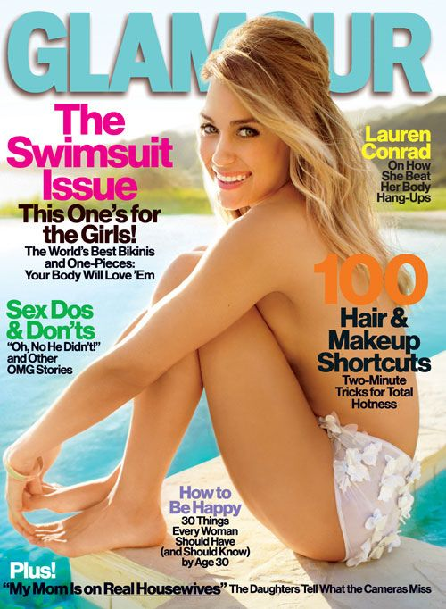 Lauren Conrad  Glamour Magazine Cover March 2012