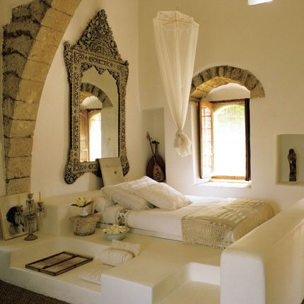 Casa árabe - dormitorio