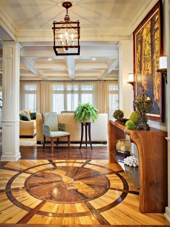 Such beautiful detail on that floor       #interior #floor #design