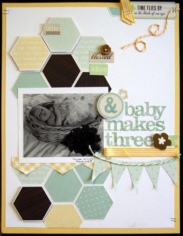 & Baby Makes three - Scrapbook.com