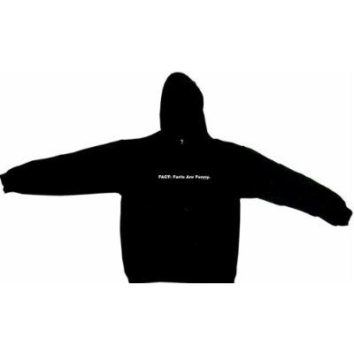 FACT: Farts Are Funny Men's Hoodie Sweat Shirt Small thru