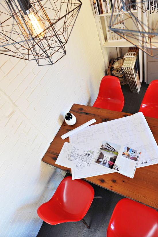 Interior Design Office by Mak Interiors and Kyle Bidgood Interior Design