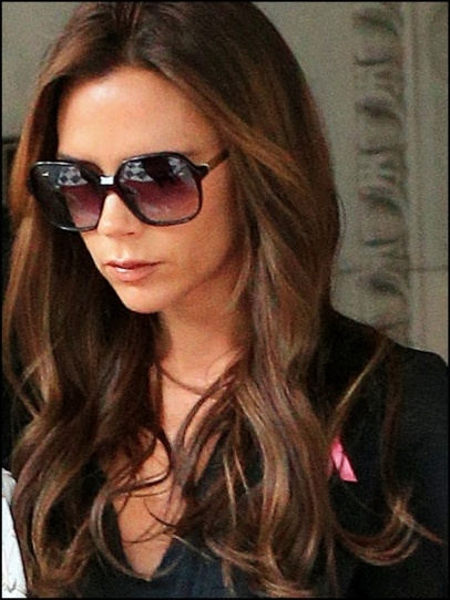 Victoria Beckham  #fashion #style #looks #accessory #celebrity #sunglasses
