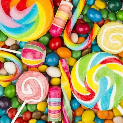 What's your favorite candy? It can't be chocolate! Mine are lollipops!