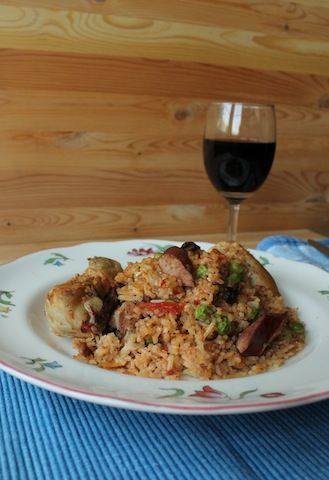 Food Lust People Love: Arroz con Pollo or Rice with Chicken