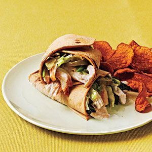 Brown-Bag Lunch: Grilled Chicken Wraps | CookingLight.com