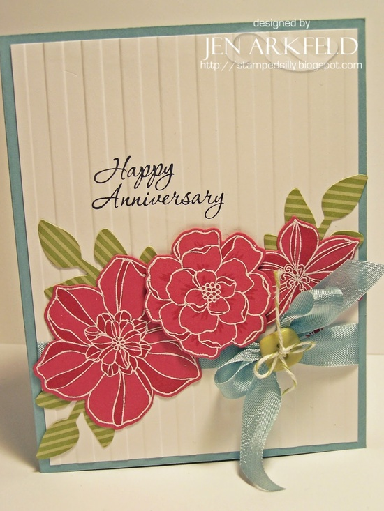 Stampin' Up! Card  by Jen A at Stamped Silly