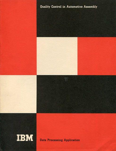 #IBM Quality Control Brochure by Paul #Rand