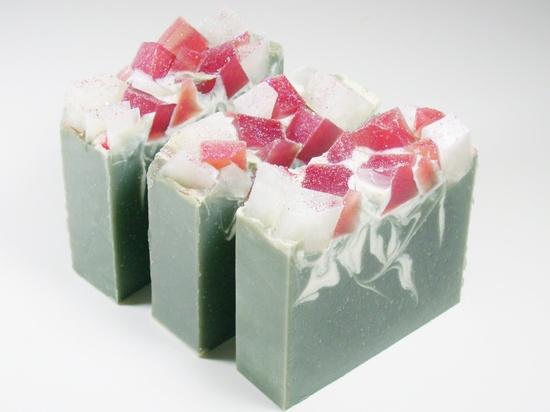 HUNTSMAN  Handmade Soap, Cold Process, CP, Vegan, Coconut Milk. $5.75, via Etsy.