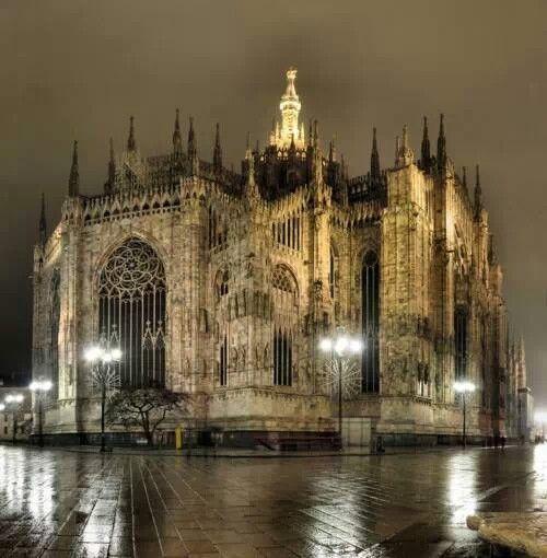 II duomo , Milan Italy.