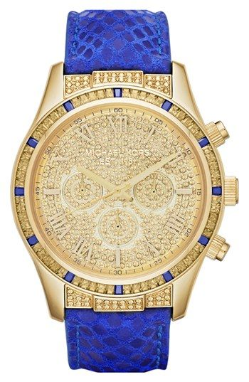 Can't get enough of this Michael Kors watch