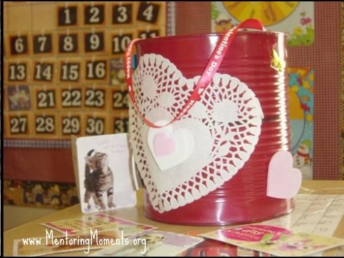 valentine's card can