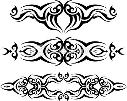 Get Mystical, Choose Tribal Tattoo Design: Tribal Band Tattoo Designs ~ tattooeve.com Tattoo Design Inspiration