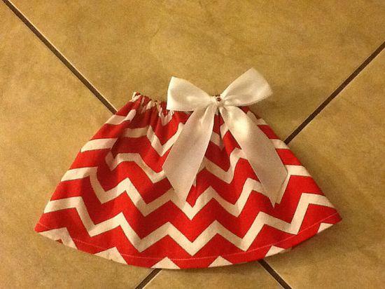 Baby girl handmade skirt  on Etsy, $17.00
