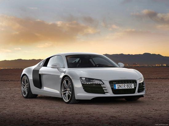 cars Audi vehicles sports cars white cars front view Audi R8 GTR automobiles  / 1600x1200 Wallpaper