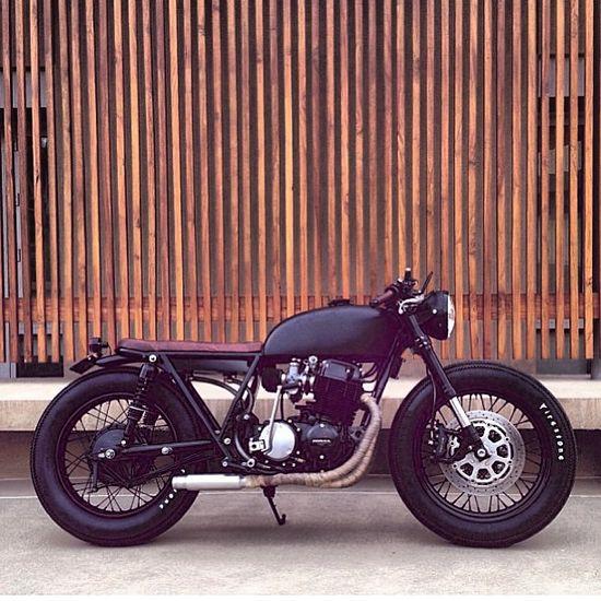 #Cb750 custom for @Dawn Cameron-Hollyer Cameron-Hollyer Denbow Dorsey photo @chriskiker