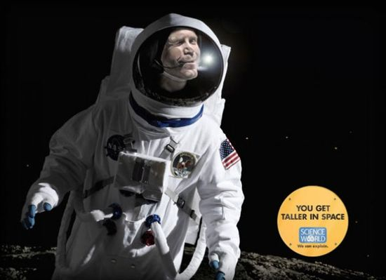 Creative and Funny Ads for a Science Museum