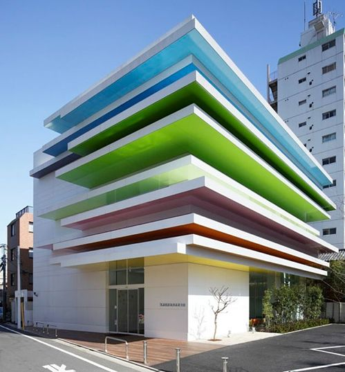 This is such a happy building... :) #architecture #design
