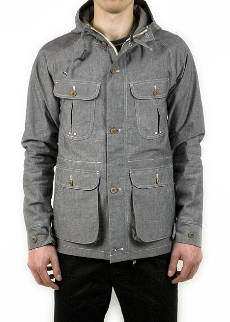 grey hoodie-jacket wth nice details / black pants, men fashion