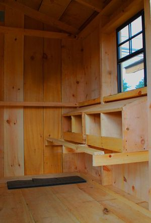 Convert Shed Into Chicken Coop Pinpoint
