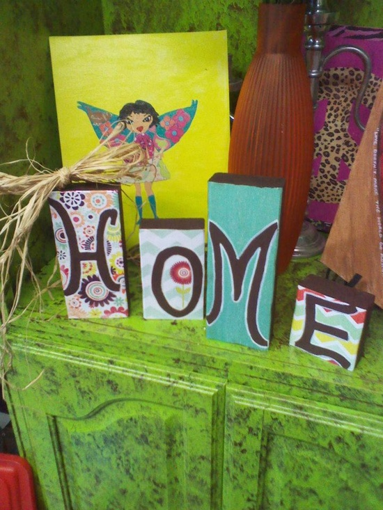 handmade craft decor
