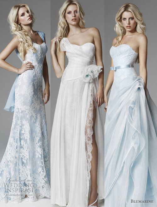 Our top 3 picks from the Blumarine 2013 Bridal Collection.
