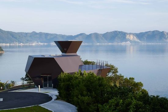 The Toyo Ito Museum of Architecture in Imabari, Japan