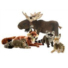 Woodland Stuffed Animal Collection IV