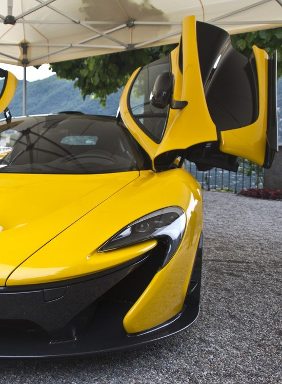 Gorgeous Yellow McLaren P1
