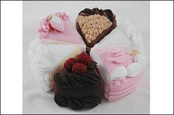Tea Cakes Felt Food Patterns & Instructions