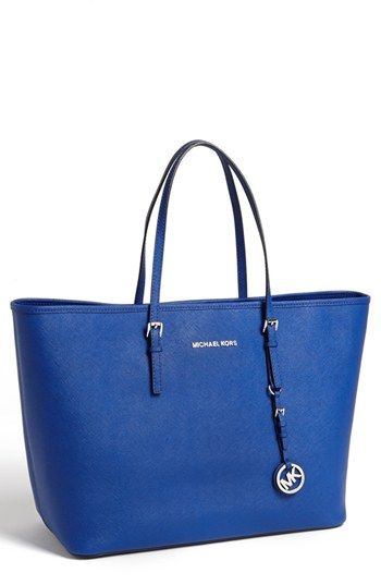 MICHAEL Michael Kors 'Jet Set - Medium' Travel Tote available at #Nordstrom