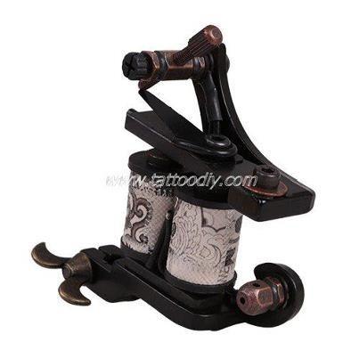 NEW Pro Black Handmade Tattoo Machine Gun Shader