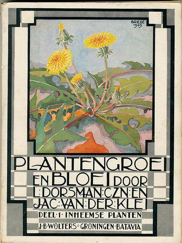 Plantengroei en bloei. 1934. (book cover)