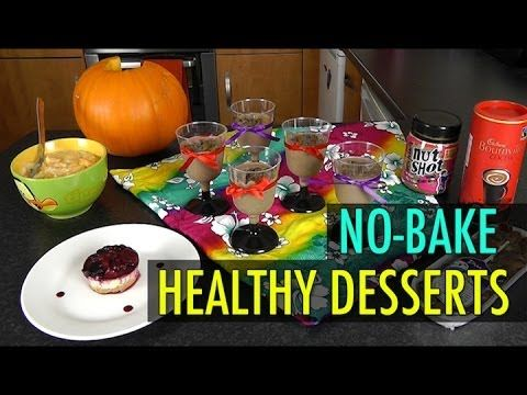 Festive Season No-Bake Healthy Desserts