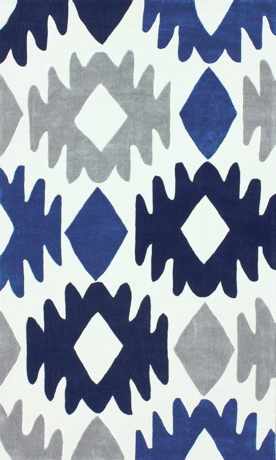 Devon Area Rug in Blue design by NuLoom . iPhone wallpaper
