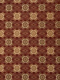 Stroheim Fabric Raphaels Medallion-Scarlett $94.50 price per yard #interiors #decor #upholstery