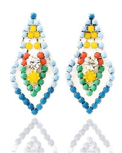 Sunshine Mini Chandelier Earrings