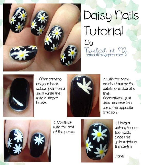 Daisy Nail Tutorial