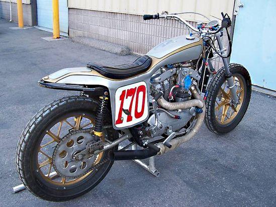 Harley FlatTracker - via Pipeburn