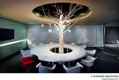 Creative office design by M Moser Associates