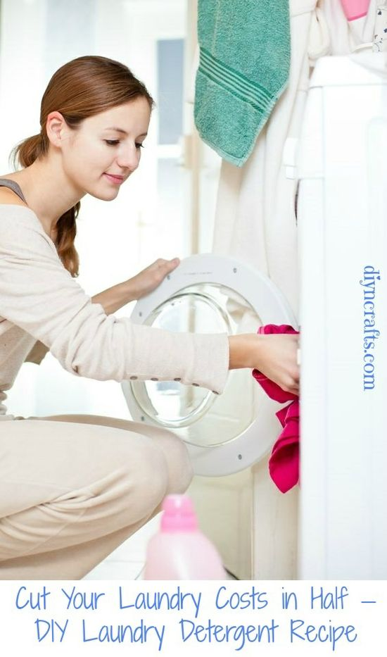 Cut Your Laundry Costs in Half – DIY Laundry Detergent Recipe