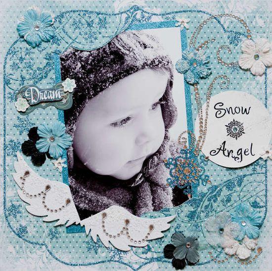 Layout: Snow Angel